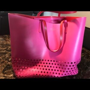 Kate Spade extra large open pink tote.bag
